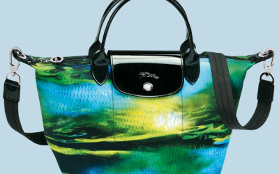 Hot Trend: Graphic Print Bags from Burberry Prorsum & Longchamp